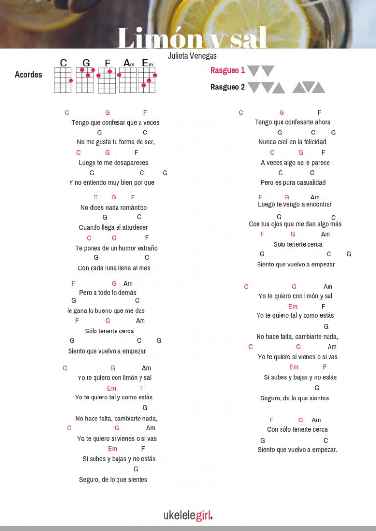 Canciones con 5 acordes para ukelele archivos