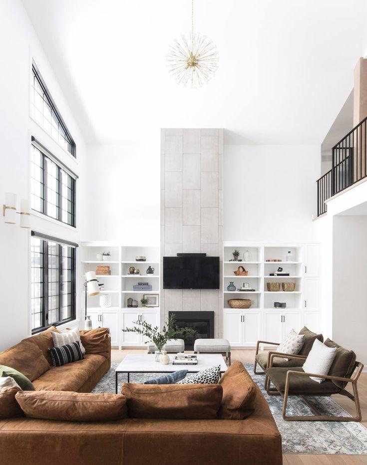 How To Create A Modern Farmhouse Interior - Home Envy Members Club