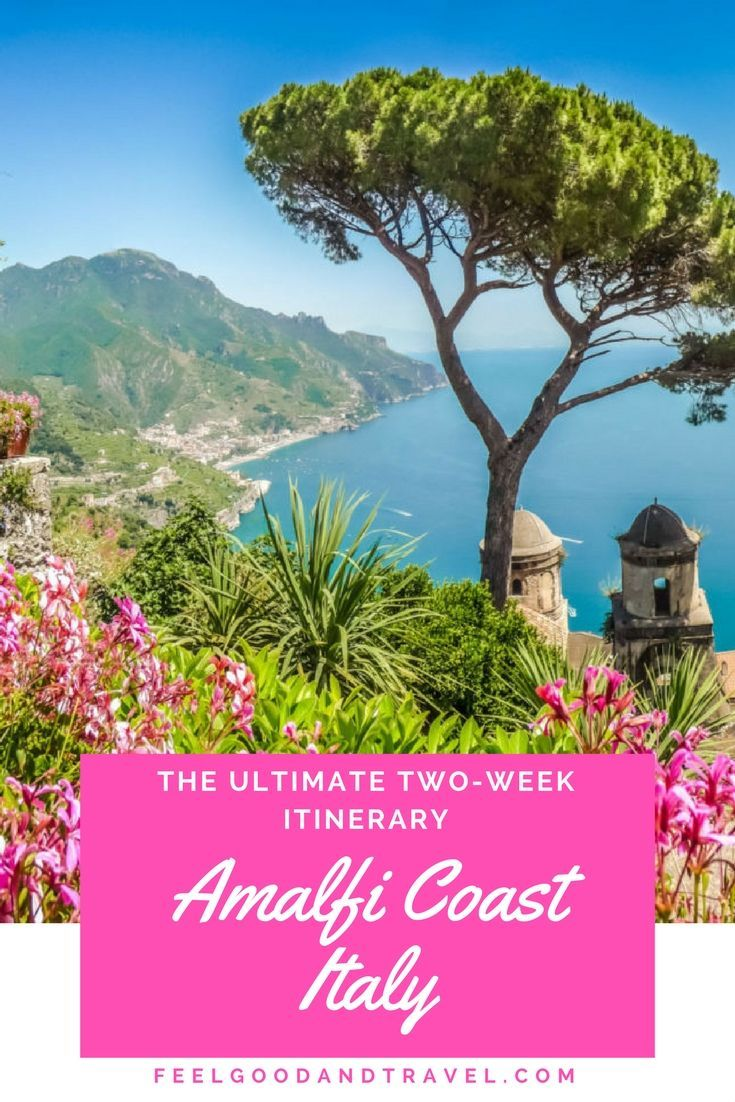 Follow this itinerary for two unforgettable weeks on the Amalfi Coast in Italy! #AmalfiCoast #Amalfi #ItalyTravel #AmalfiItalianCoast #AmalfiCoastItinerary
