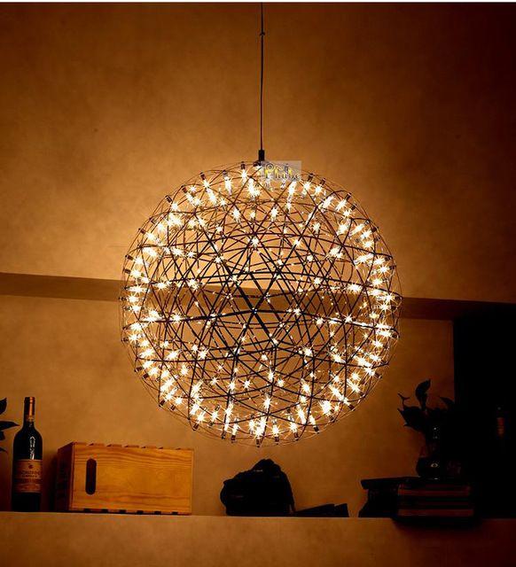 Moooi Raimond Suspension Lamp Firework LED Pendant Lights Width 90cm Guaranteed 100%+Free Shipping