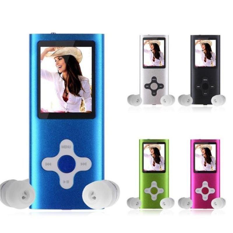 2018 Fashion Portable MP3 MP4 Player LCD Screen FM Radio Video Games Movie US