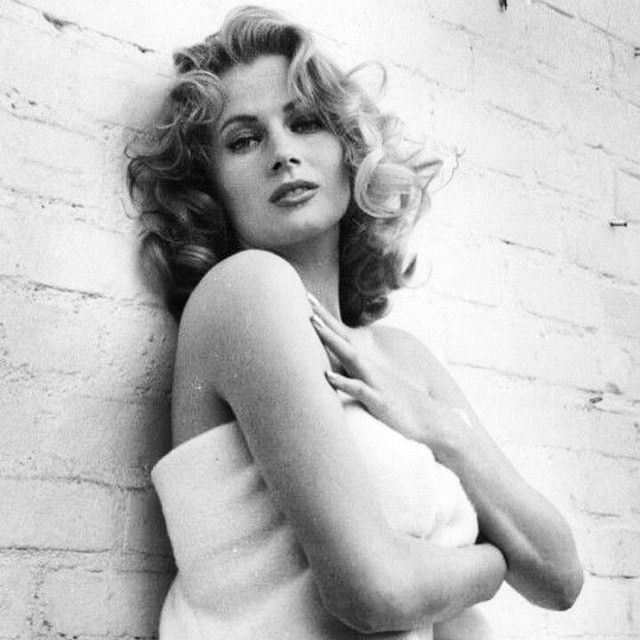 Anita Photographed By Peter Basch Anitaekberg Actress
