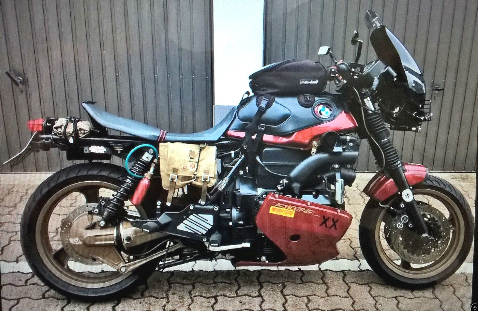 BMW K 1100 RS Custom Bike Umbau Racer Scrambler Bratstyle In Auto Motorrad