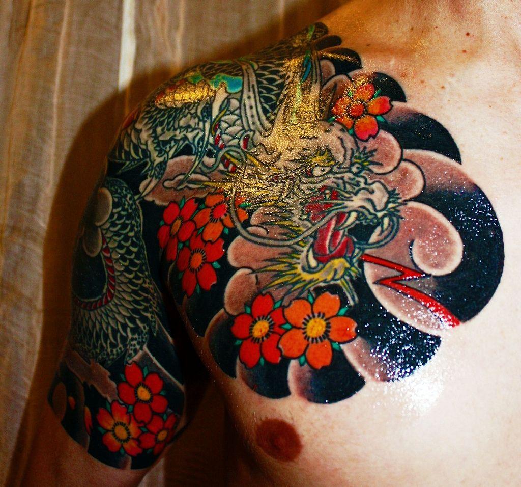 front view marine 39 s ink tattoo and okinawa tattoo