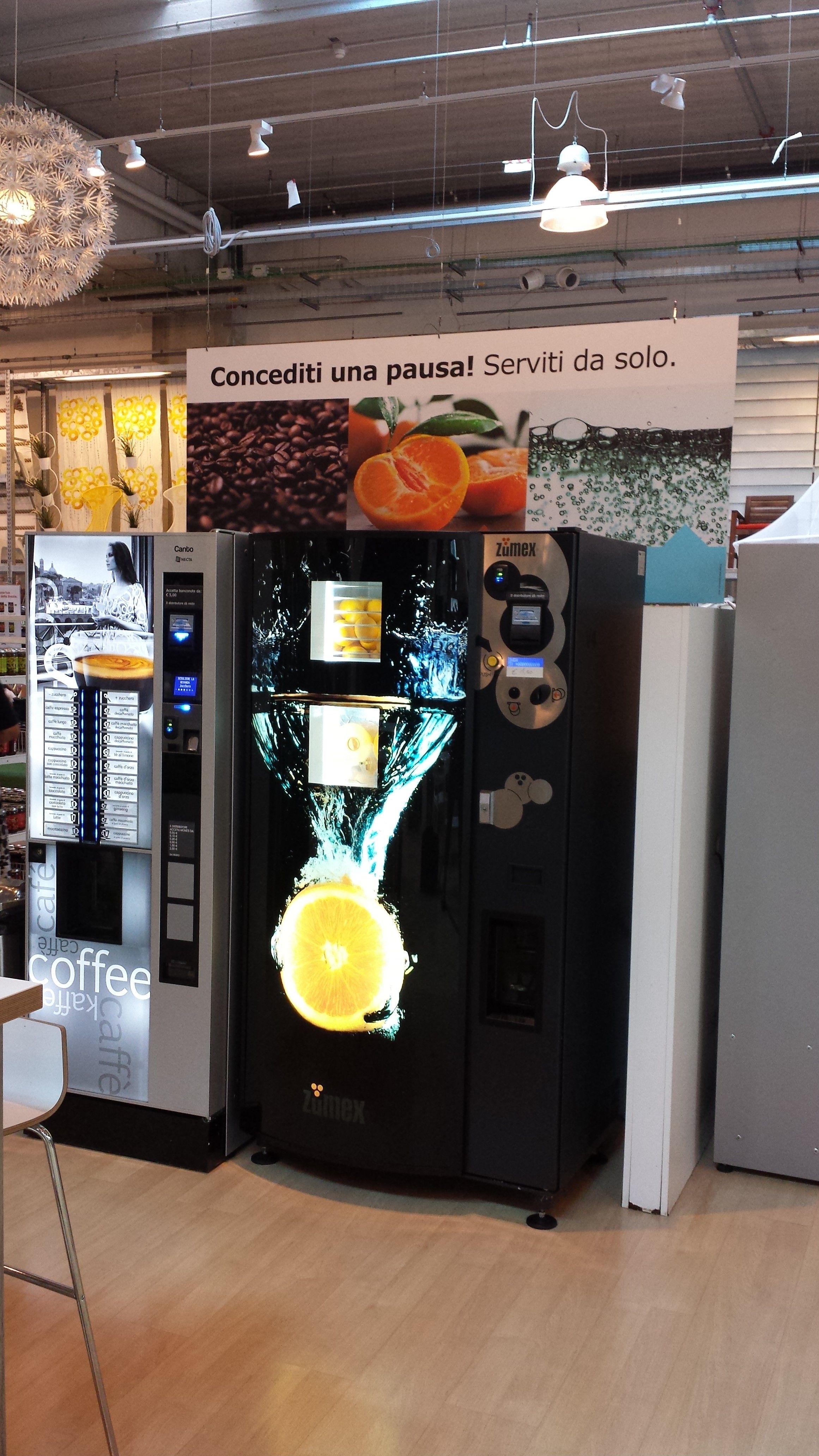 Vending At Ikea Milano Enjuice Machine à Jus Ultra Frais Bar