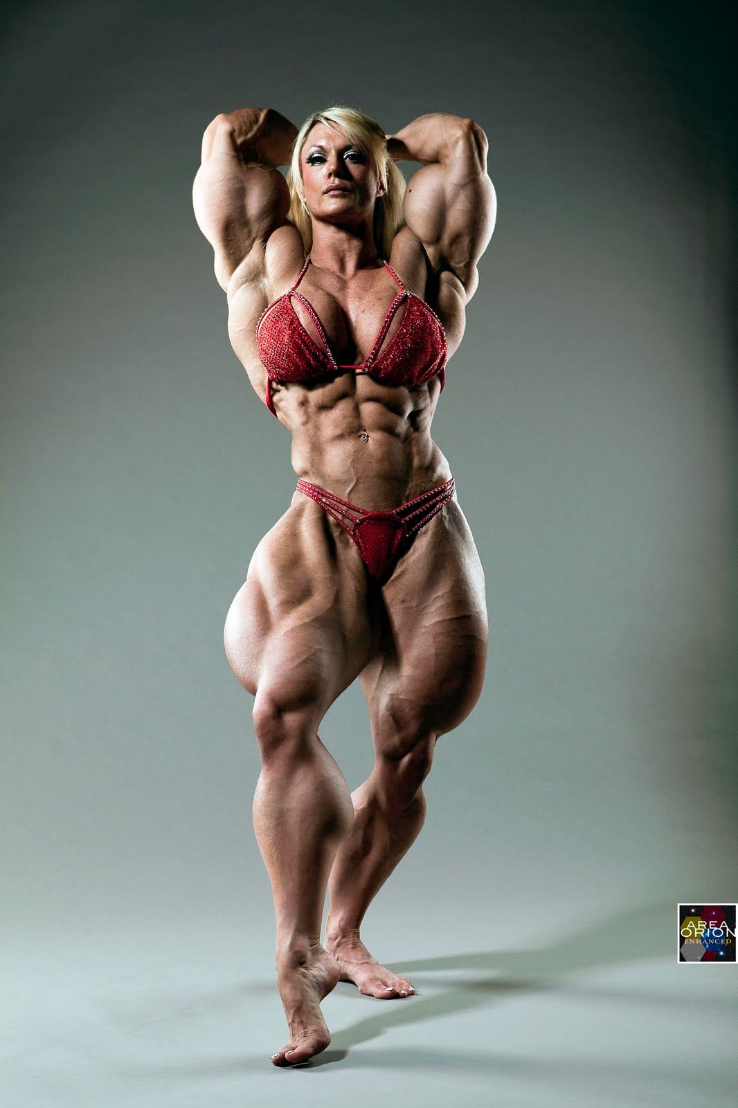Women Bodybuilding | Sample227R0910 Lisa Gets A Morphing - Area ...