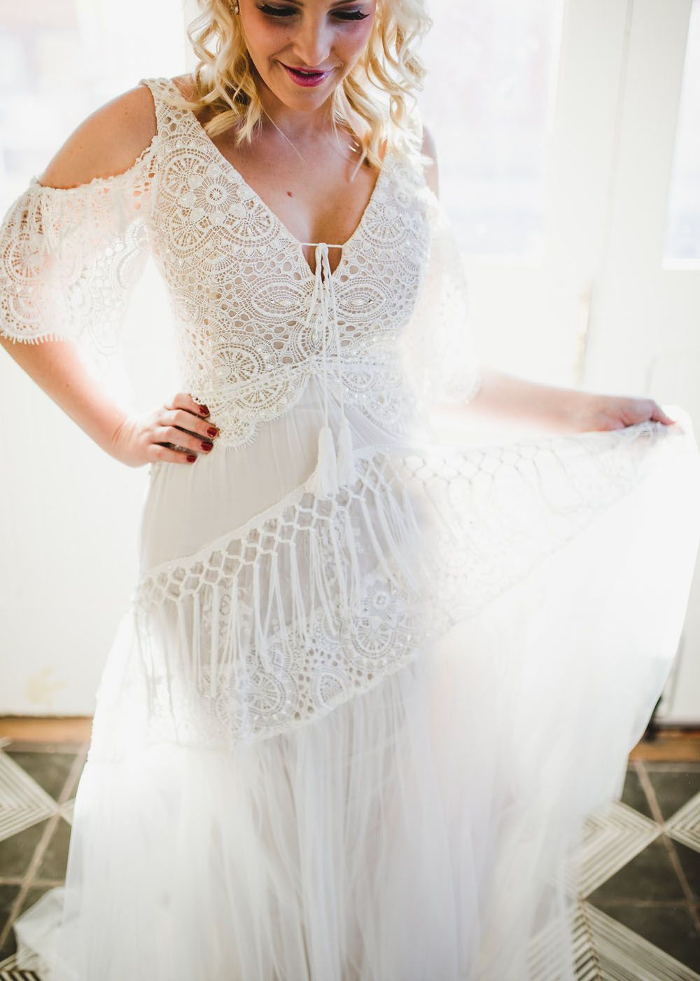 A Be Bohemian Curve By Rish Best Wedding Dresses Boho Wedding Dress Bohemian Curvy Wedding Dress