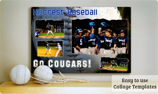 The Fun Easy Way To Make Baseball Collages Poster Templates