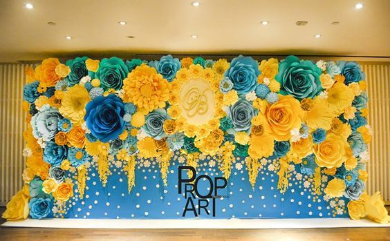 Incredibly beautiful flower wedding decorations by Prop Art | Flower ...