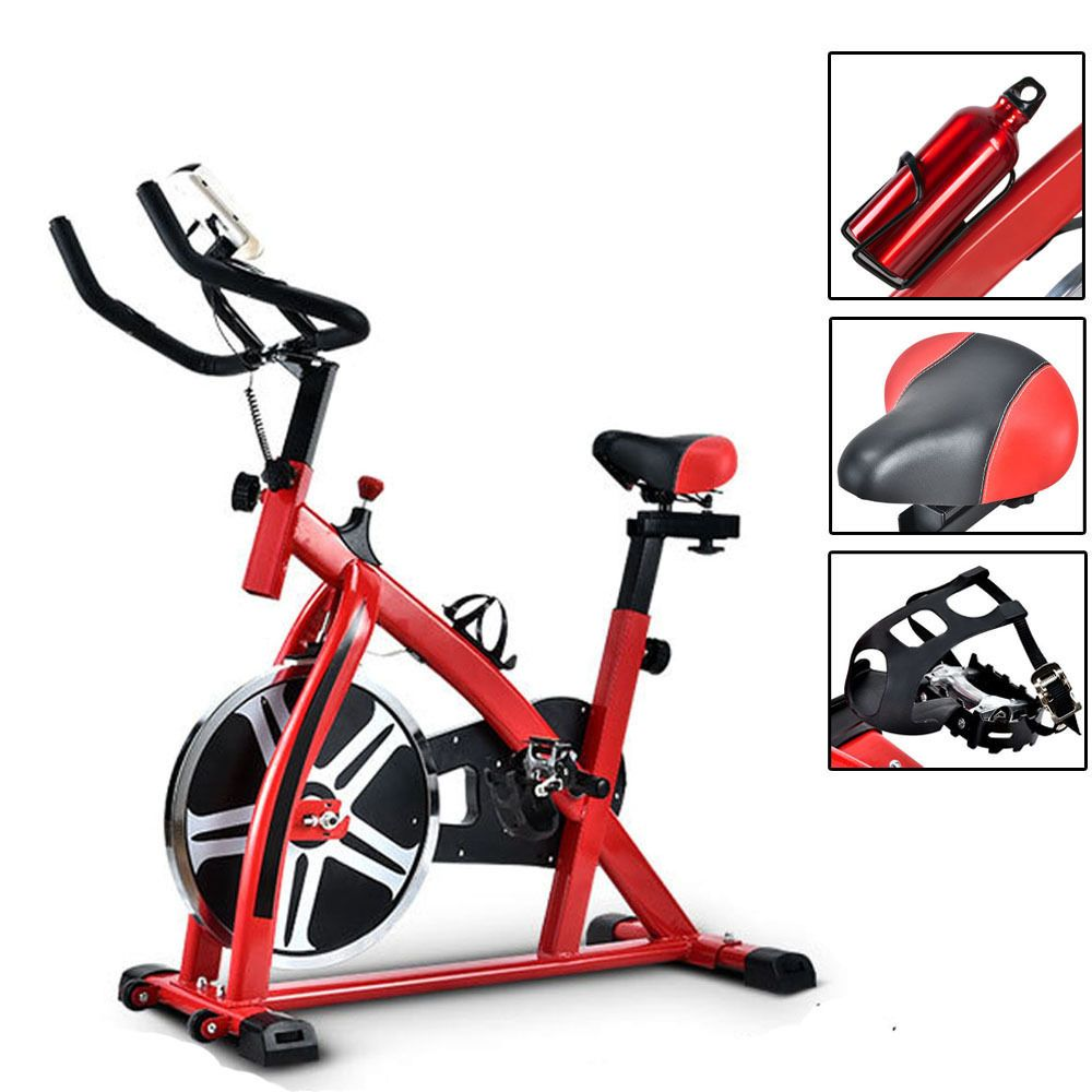 Exercise Bike Indoor Health Fitness Cycling Bicycle Cardio