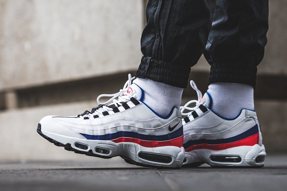 new arrival ba753 5f210 On-Foot  Nike Air Max 95 Essential