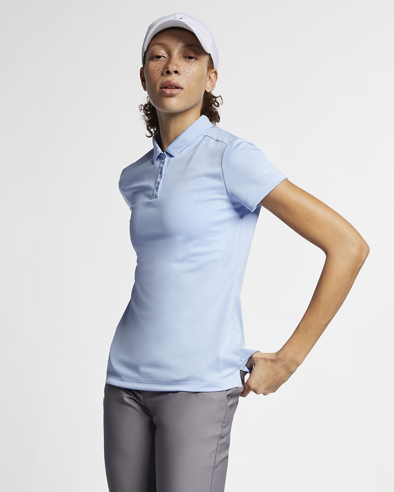 Nike drifit womens golf polo womens golf