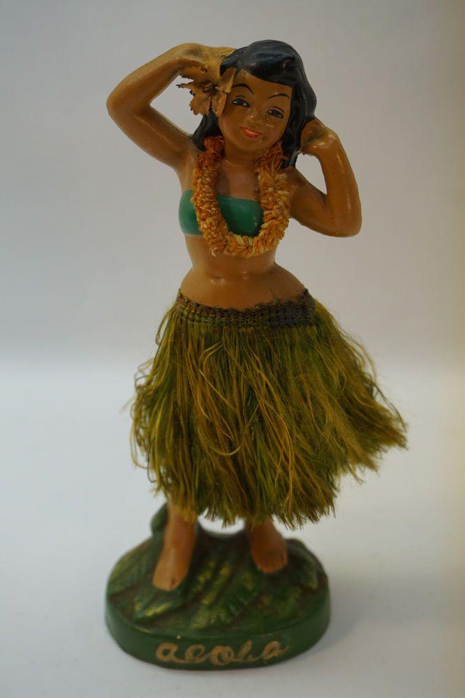 Hula Girl Dashboard Doll Hawaiian Dancer Bobble Aloha Car Auto Dancing Figurine