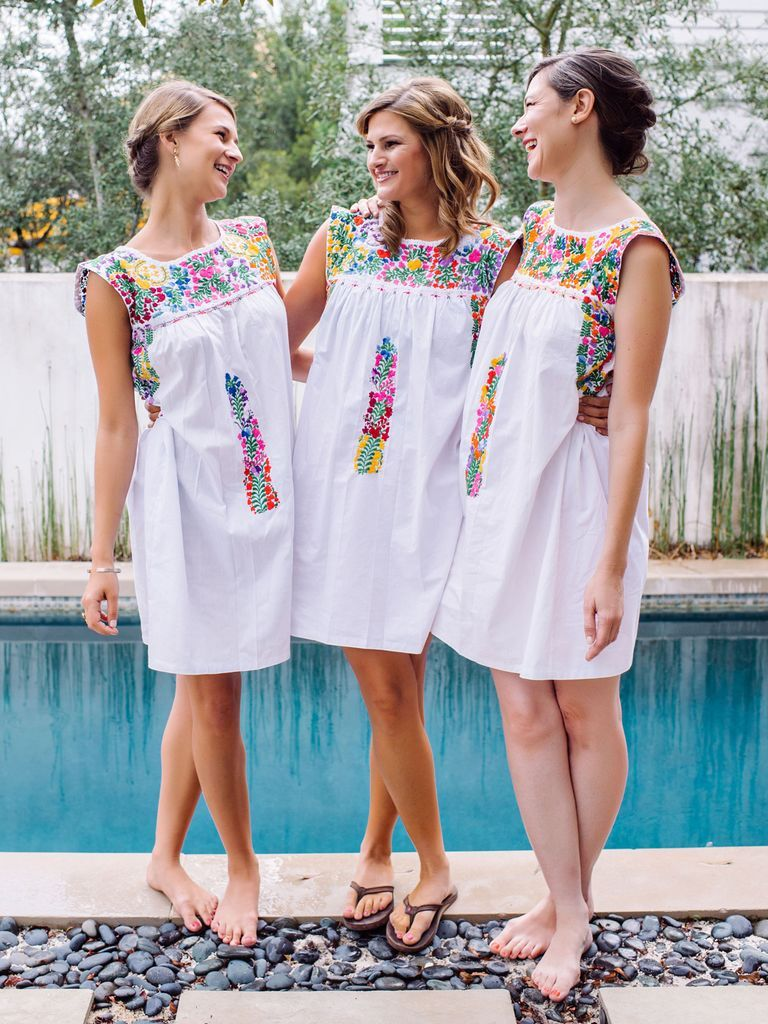 All the outfits your bridesmaids can get ready in