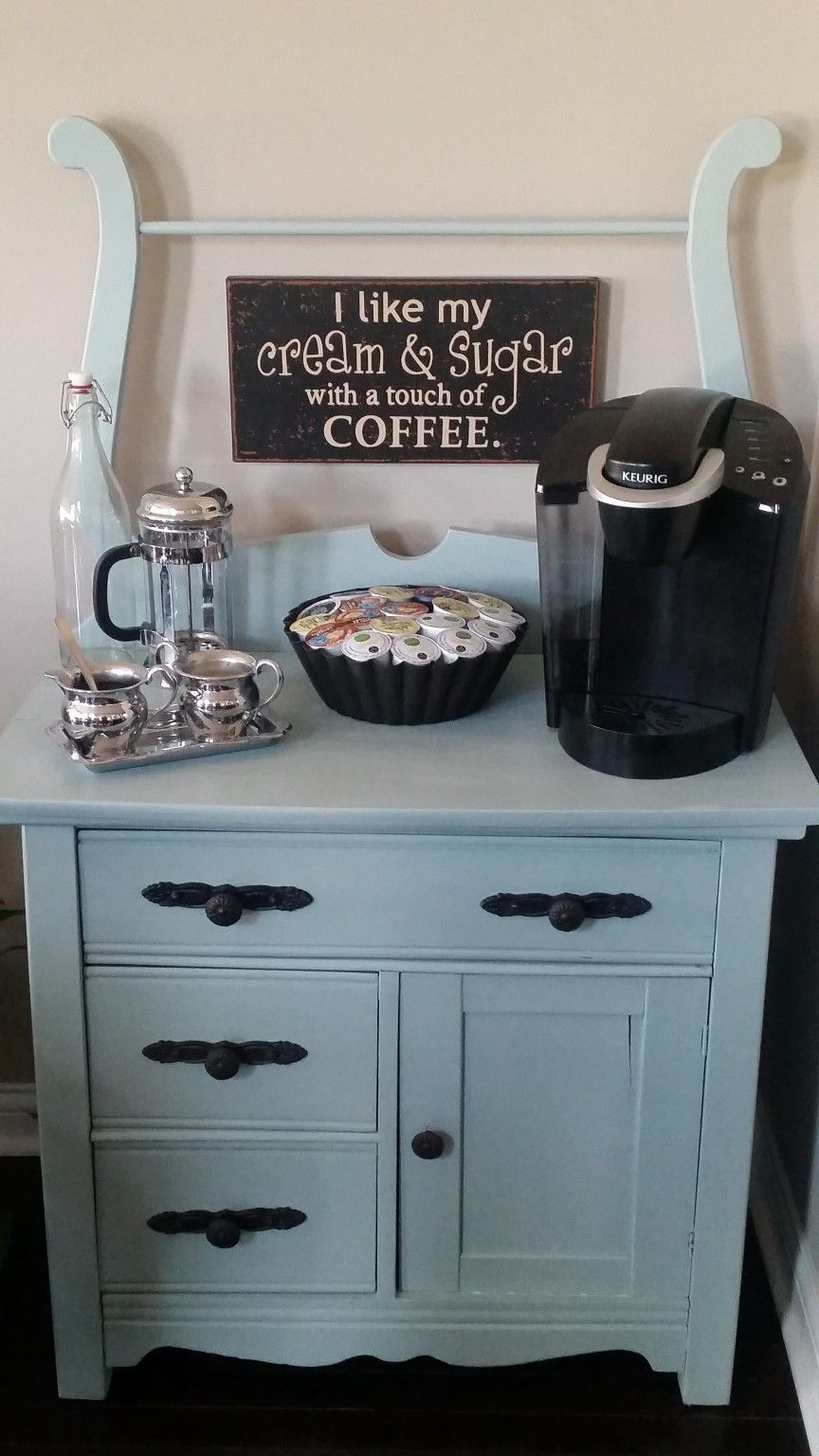 25+ DIY Coffee Bar Ideas for Your Home (Stunning Pictures) | Coffe ...