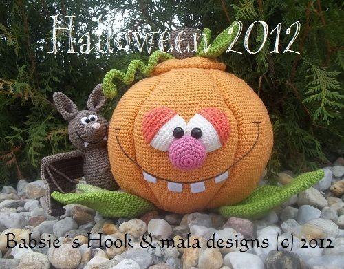 Kürbis, Halloween, Häkelanleitung pdf   Halloween Häkelanleitungen ...