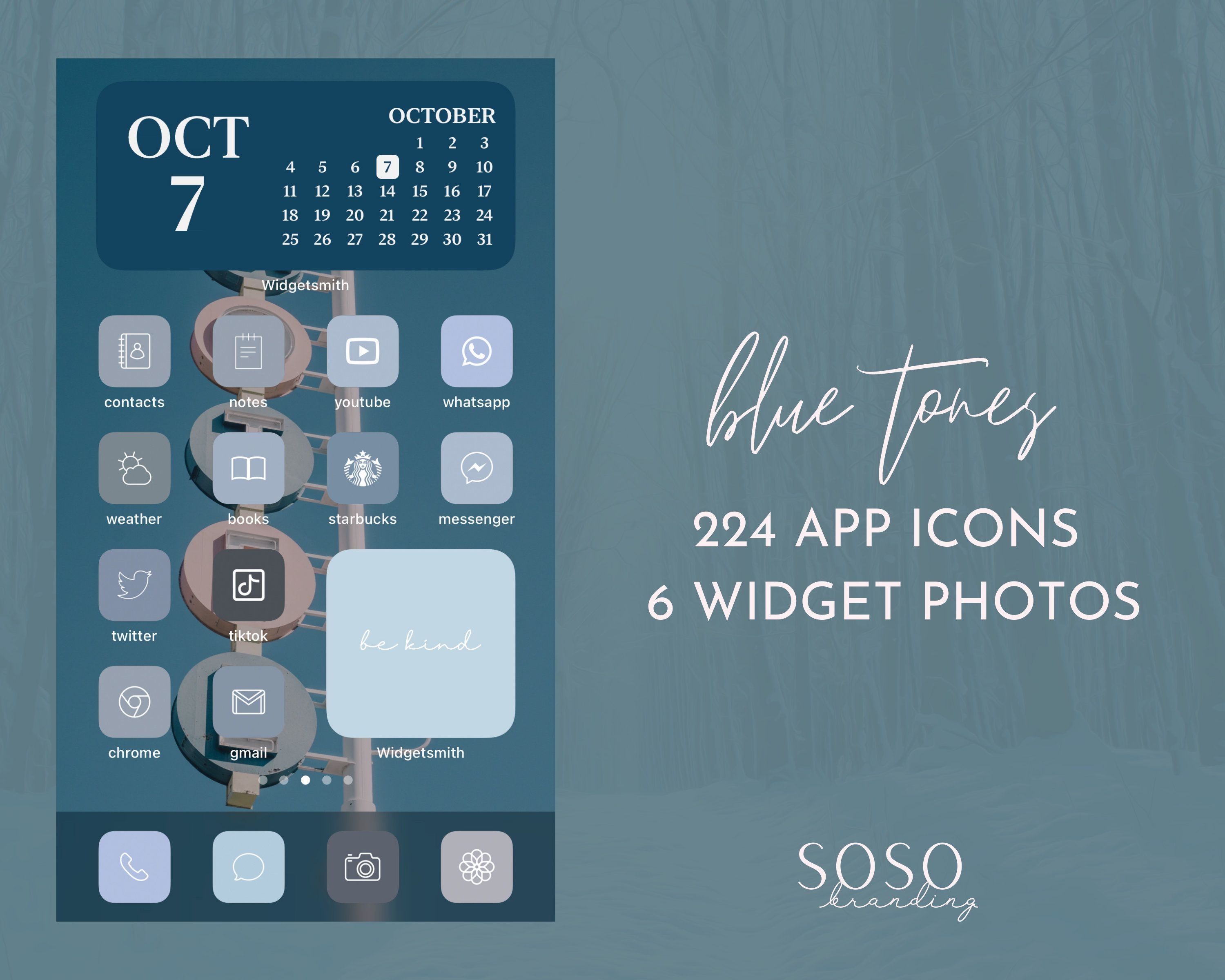 Blue Tones Aesthetic 224 Iphone Ios 14 App Icons Ios14 Etsy In 2020 Iphone App Layout App Icon Phone Themes