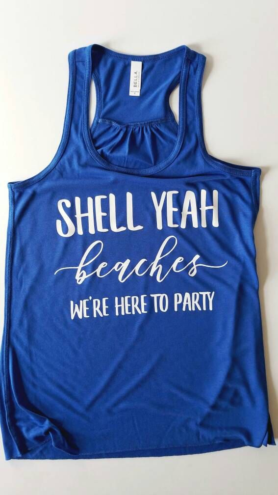Funny Tank Top Muscle Tank Top Humor Tank Top Bachelorette Women/'s Muscle Tee Party Tank Top Let/'s Get Away Vacation Tank Top