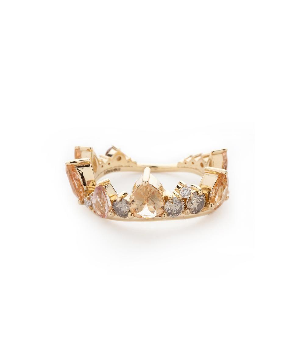 electric crown ring (Brazilian gems) FERNANDO JORGE