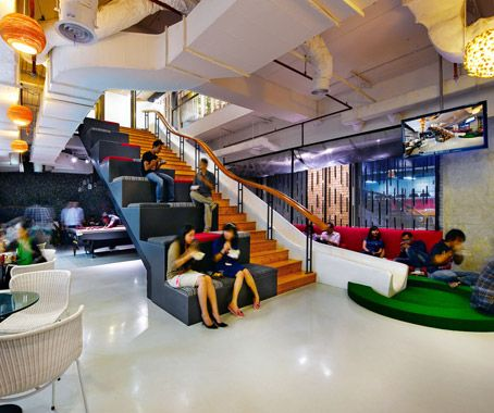 Fun Office Design Crawford And Company San Go