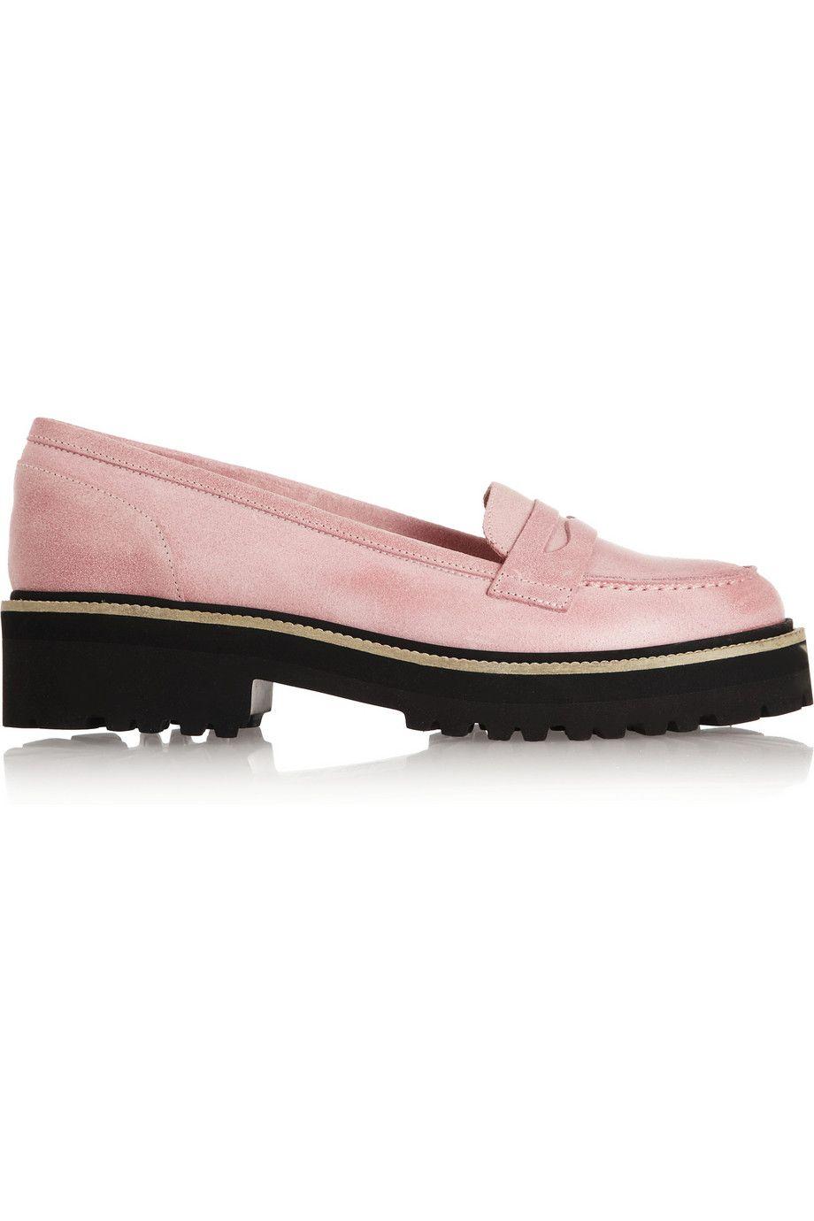 MM6 Maison Martin Margiela|Leather loafers