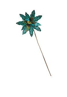 Belk Home Accents� All that Glitters Peacock Pick Ornament