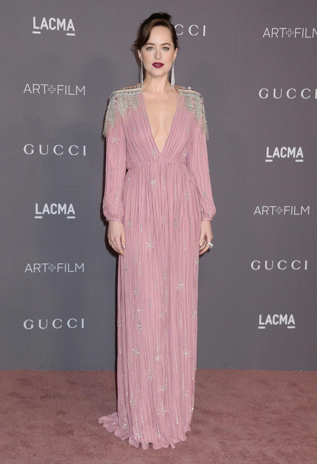 Dakota Johnson attending LACMA 2017 Art+Film Gala (Los Angeles ...