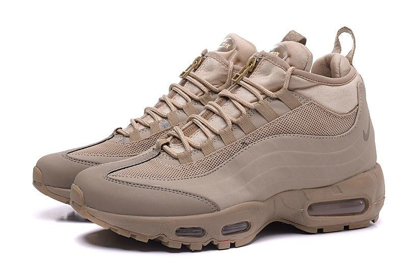wholesale dealer 6ff0c ef145 Spring Summer 2018 Fashion Nike Air Max 95 Hyp PRM 20 Anniversary Mid Beige