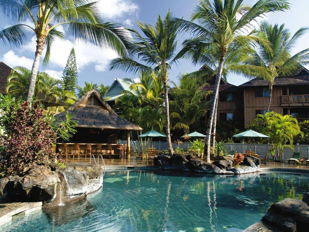 Beautiful Kona Hawaiian Resort on the Big Island's west