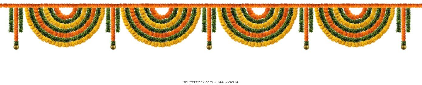 #Orange #and #yellow  Orange and yellow Marigold Flower and green leaf garland decoration for indian festival, Indian festive decoration, toran #leafgarland #Orange #and #yellow  Orange and yellow Marigold Flower and green leaf garland decoration for indian festival, Indian festive decoration, toran #leafgarland