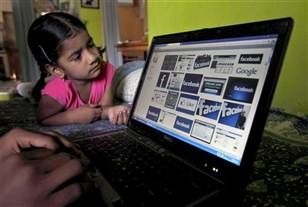 How to protect young kids from inappropriate Internet (Photo: Mahesh Kumar A  /  AP file)