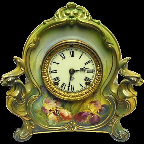 ANSONIA Royal BONN Mantel Clock Model LA Charm Time