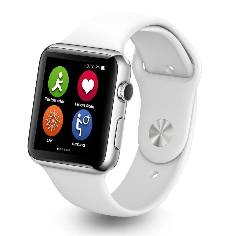 MTK2502c IWO 11 Smart Watch Heart Rate Support Hebrew