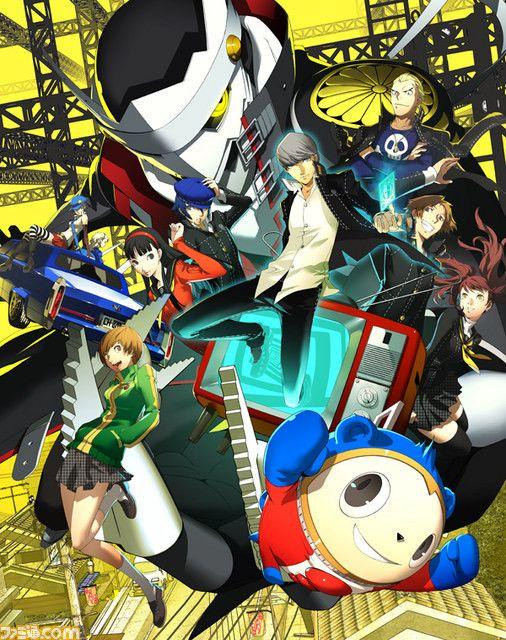 Persona 4 The Golden Videogame Box Art Unveiled Persona 4 Persona Anime