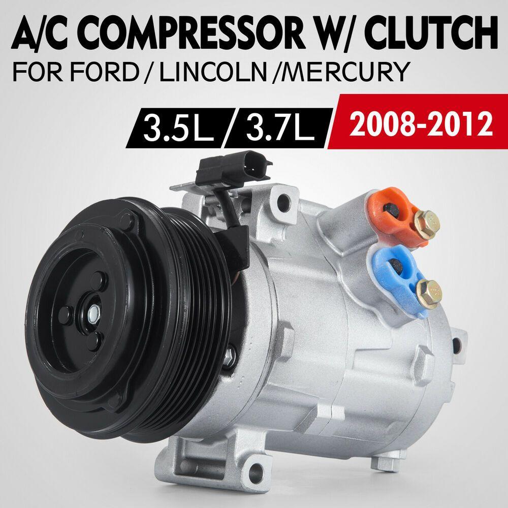 Sponsored Ebay Set Ac Compressor For Mercury Sable 2008 2009 3 5