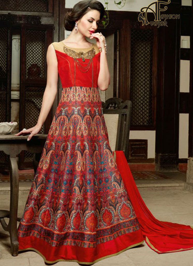 Party Wear Long Gowns Online Shopping Avasarfashioncom