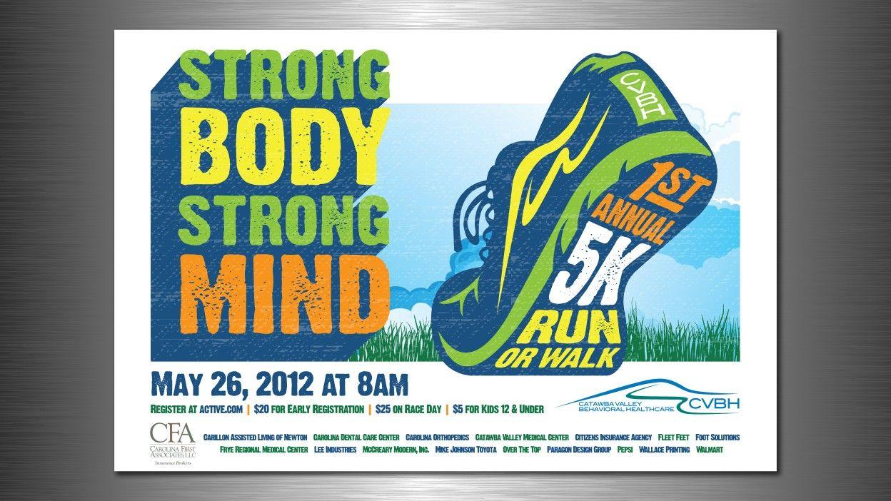 Dallas 5k Spirit Shirts Running Strong Body
