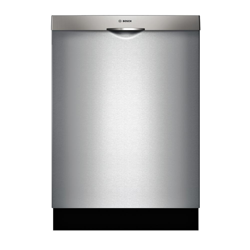 Bosch 300 Series Top Control Tall Tub Pocket Handle Dishwasher In