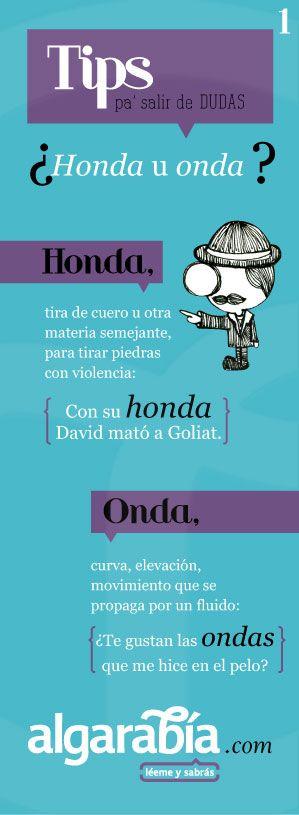 Tips Pa Salir De Dudashonda U Onda Ortografía