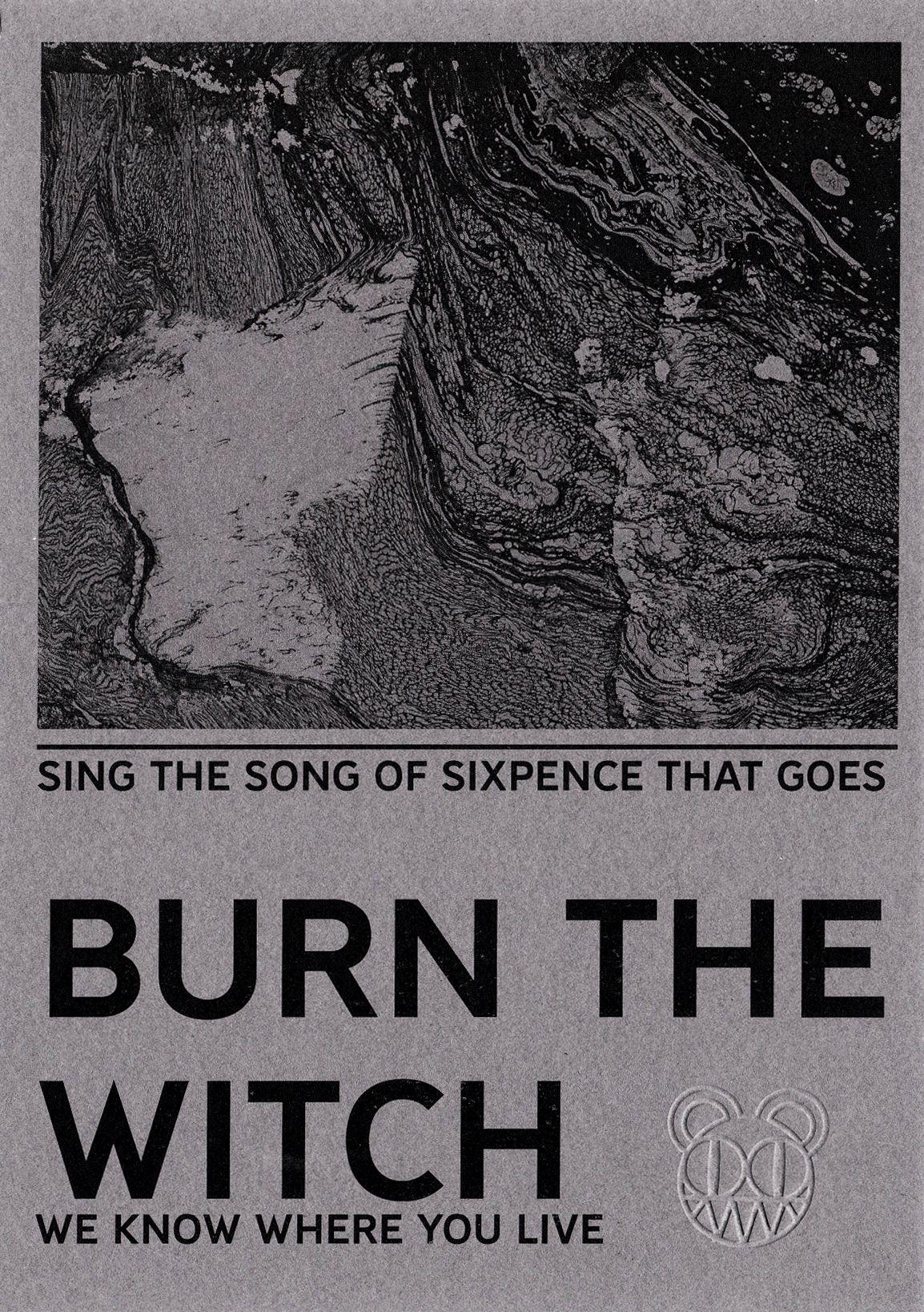 Radiohead burn the witch pamphlet edited dvdbd art radiohead burn the witch pamphlet edited radiohead poster radiohead lyrics izmirmasajfo