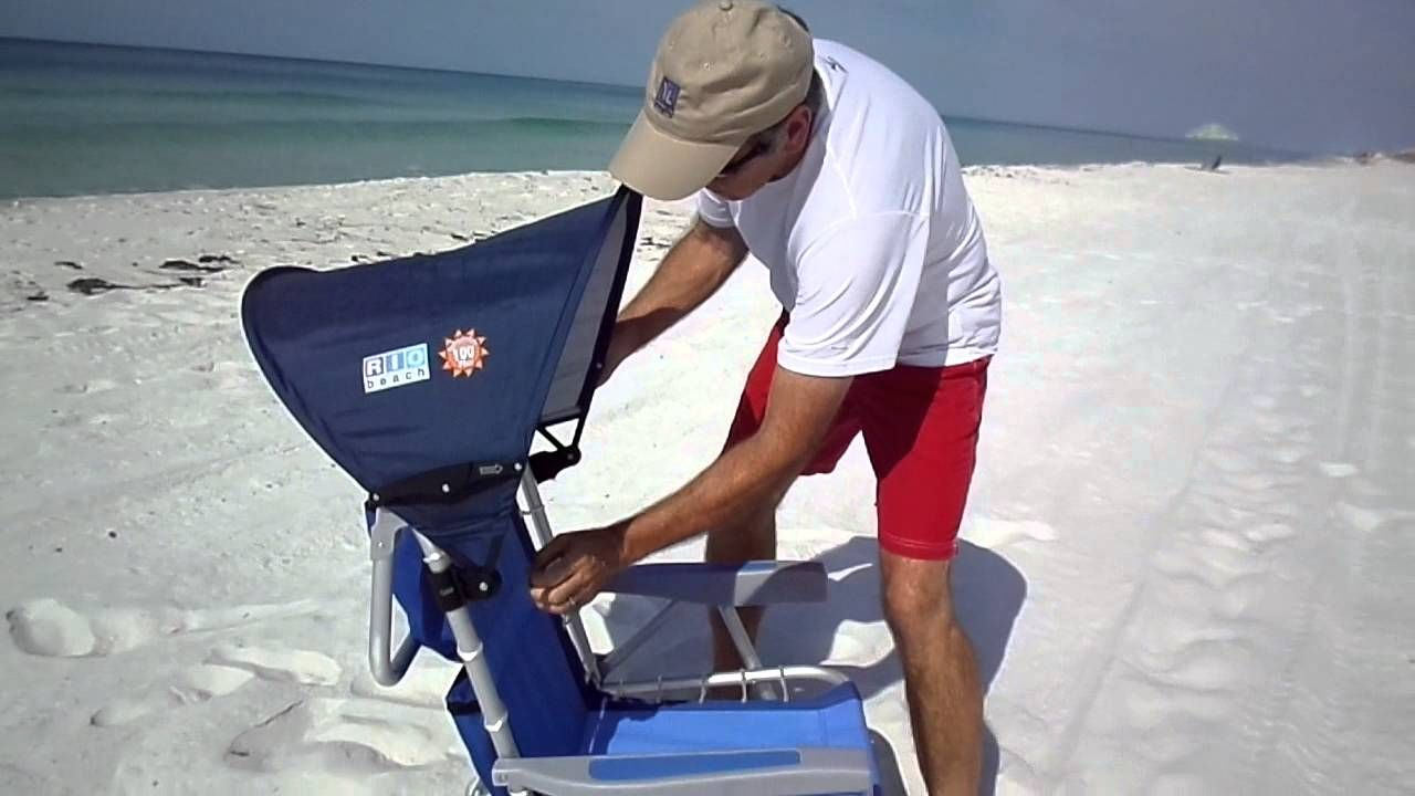 Add A Canopy To Your Favorite Beach Chair And You Re No Longer Stuck In One Place Shade Moves With