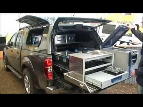 Zabudowa wyprawowa Toyota Land Cruiser 80 , interior design, off road 4x4 - YouTube