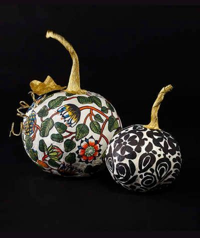 DIY Paper Mache Pumpkins That Will Last Forever