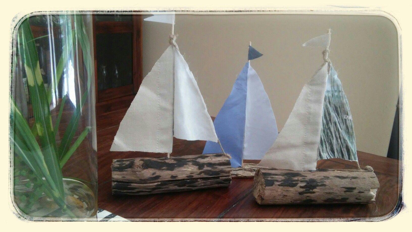 Segelboote selbstgemacht