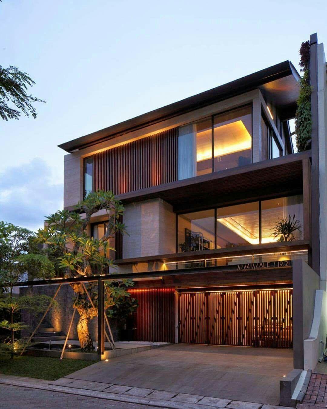 Home Design Ideas Architecture: Jakarta House By Nataneka Architects In Jakarta,#Indonesia