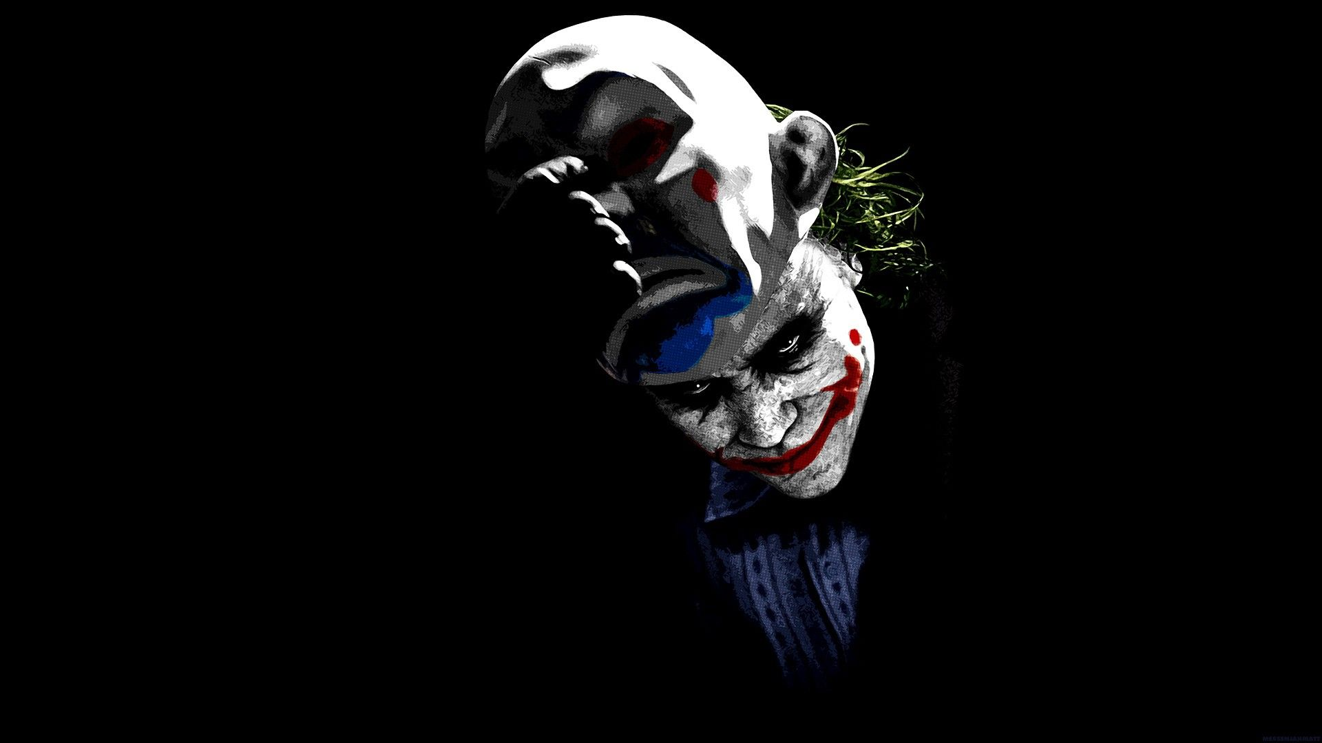 Double Face Live Wallpaper Android Apps On Google Play Joker