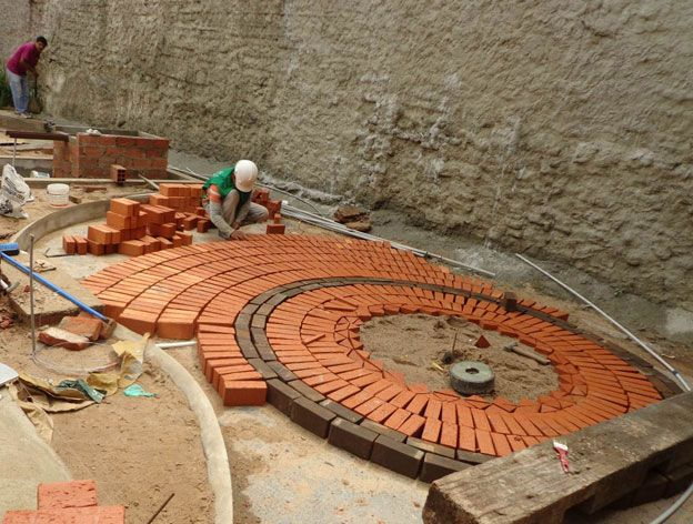 Resultado de imagen para pisos de ladrillos y hormigon for Pisos ceramicos para garage