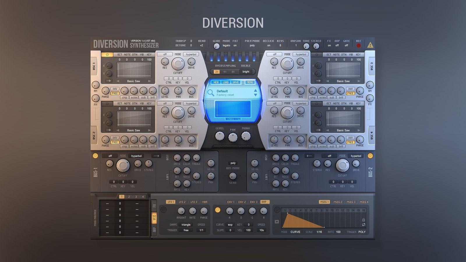 diversion synth vst