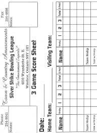 Image Result For Bowling League Score Sheet  Bowling Alley Stuff