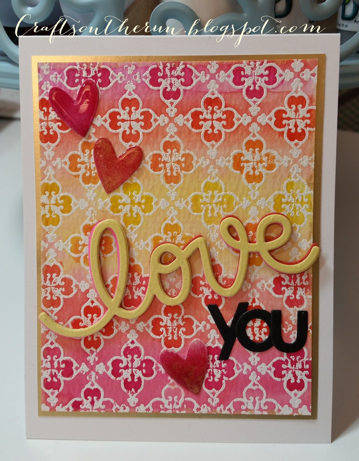 OOTSR Valentines Day Cutting Dies Photo Album DIY Crafts and Valentines Day Decor Template Embossing for Scrapbooking Love Heart Craft Dies Card Making